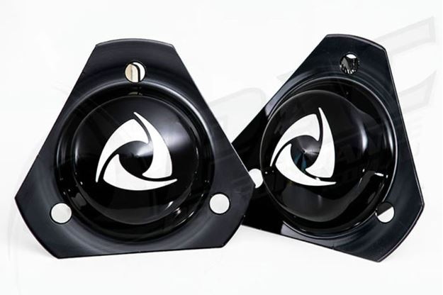 Picture of R100/RX2 STRUT TOP COVERS - BLACK