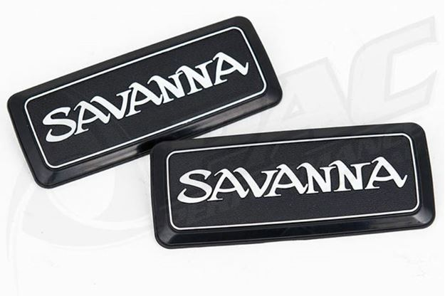 Picture of MAZDA RX3 SAVANNA REAR QUARTER PANEL BADGE (REFLECTOR DELETE)
