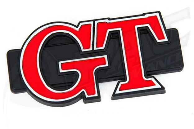 Picture of MAZDA RX3 COUPE REAR PILLAR BADGE GT