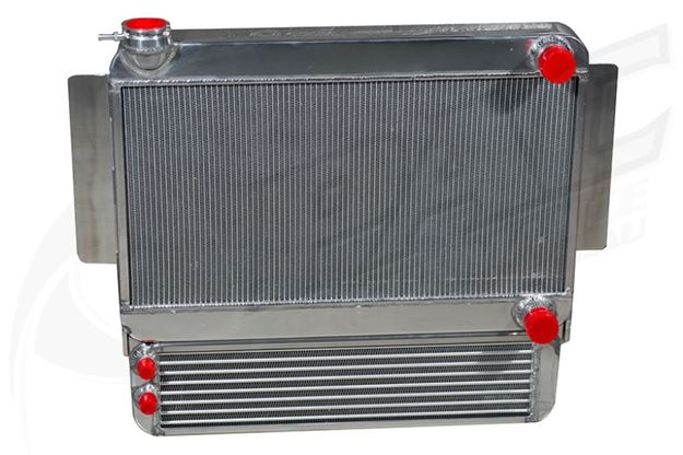 Picture of H/DUTY ALLOY RADIATOR & OIL COOLER COMBO