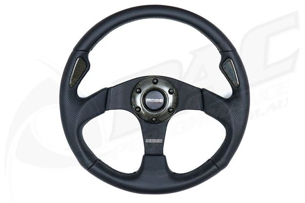 Picture of MOMO 'JET' STEERING WHEEL (320MM)