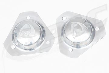 Picture of R100/RX2 STRUT TOP COVERS - POLISHED