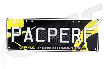 Picture of PAC PERFORMANCE DISPLAY PLATES 'PACPERF'