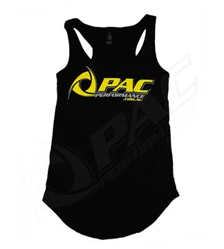Picture of PAC PERFORMANCE LADIES SINGLET - BLACK