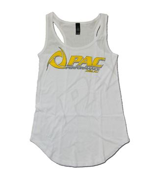 Picture of PAC PERFORMANCE LADIES SINGLET - WHITE