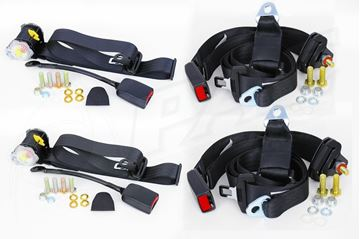 Picture of SEAT BELT SET - RETRACTABLE FRONT & NON RETRACTABLE REAR