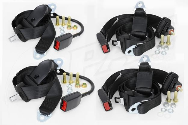 Picture of SEAT BELT SET - NON RETRACTABLE FRONT & REAR