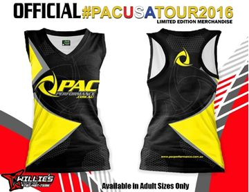 Picture of #PACUSATOUR2016 SUBLIMATED LADIES SINGLET