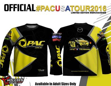 Picture of #PACUSATOUR2016 SUBLIMATED LONG SLEEVE SHIRT
