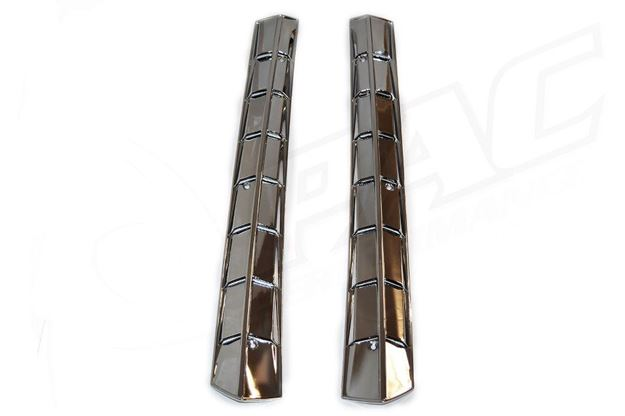 Picture of MAZDA RX3/808 COUPE REAR PILLAR VENTS - CHROME