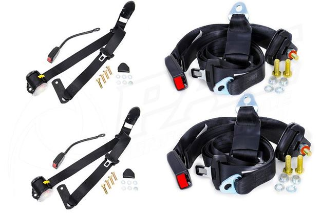 Picture of SEAT BELT SET - RETRACTABLE FRONT WITH DROP LINK & NON RETRACTABLE REAR