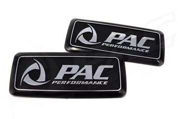 Picture of MAZDA RX3 'PAC PERFORMANCE' REAR QUARTER PANEL BADGE (REFLECTOR DELETE)