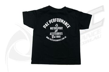 Picture of PAC PERFORMANCE RETRO T/SHIRT - KIDS