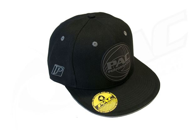 Picture of PAC PERFORMANCE FLAT BRIM CAP - BLACK