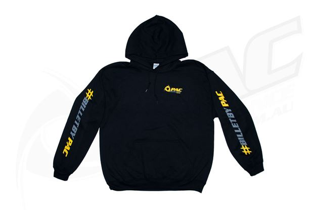 Picture of 2019 PAC PERFORMANCE BRANDED HOODIE - BLACK