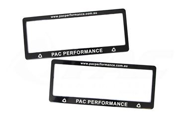 Picture of PAC PERFORMANCE NUMBER PLATE FRAMES
