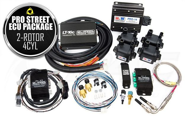 Picture of MICROTECH PRO STREET ECU PACKAGE - 2 ROTOR / 4 CYLINDER