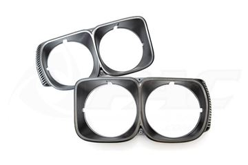 Picture of RX3 12A HEADLIGHT SURROUNDS - CHARCOAL