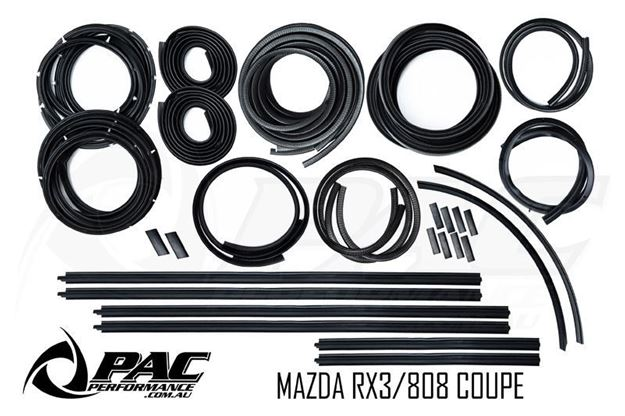 Picture of MAZDA RX3 808 FULL RUBBER KIT - COUPE