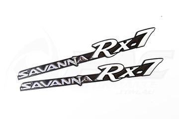 Picture of SAVANNA RX7 QUARTER BADGES