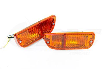 Picture of RX3 RX4 FRONT PARKER TURN SIGNAL LIGHT ASSEMBLIES - ORANGE