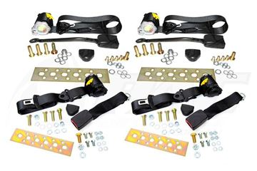 FC RX7 SEAT BELT SET - RETRACTABLE FRONT & REAR