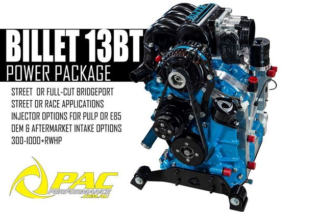 BILLET BY PAC 13BT ENGINE PACKAGE