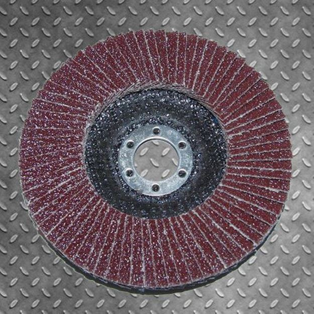 """Picture of 4"""" FLAP DISC ALUMINIUM OXIDE GRINDING SANDING 10 PACK"""