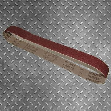 Picture of 1220 X 50MM LINISHING SANDING BELTS ALUMINIUM OXIDE PACK OF 10