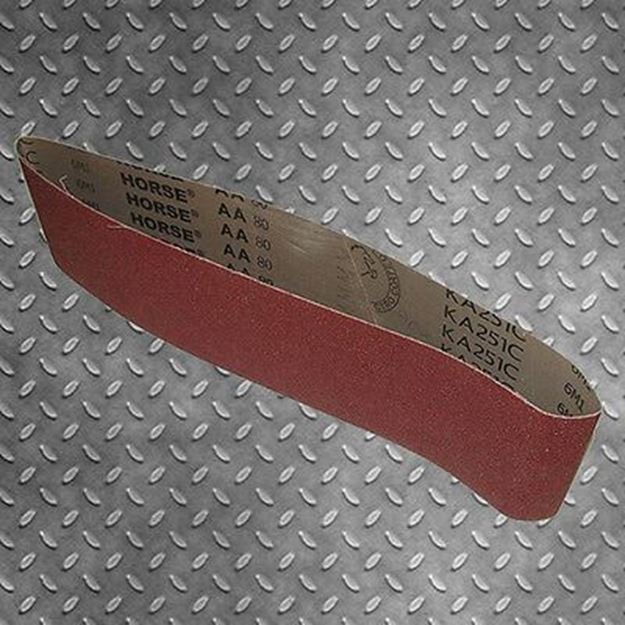 Picture of 1220 X 100MM LINISHING SANDING BELTS ALUMINIUM OXIDE PACK OF 10
